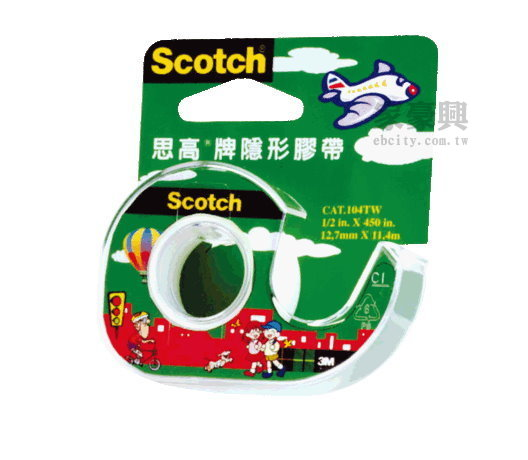 Scotch �������a 3M 104A �����x 12mm��11.4m 12��